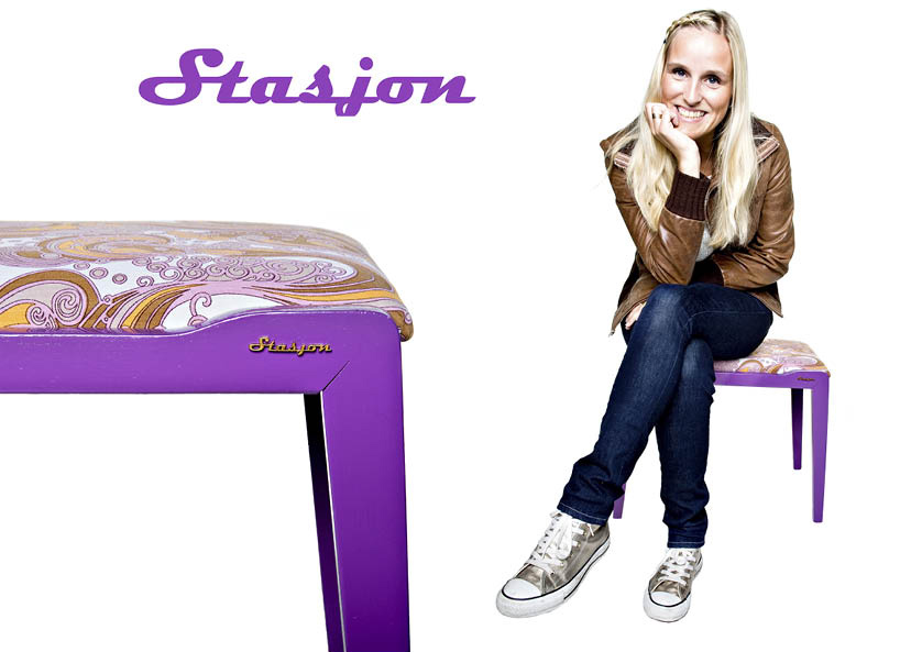 Stasjons first collection er ute…, og alt er selvfølgelig one of a kind