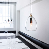 UNIKA - munnblåste glasslamper for Restaurant Grønbech and Churchill i København fra Northern Lighting